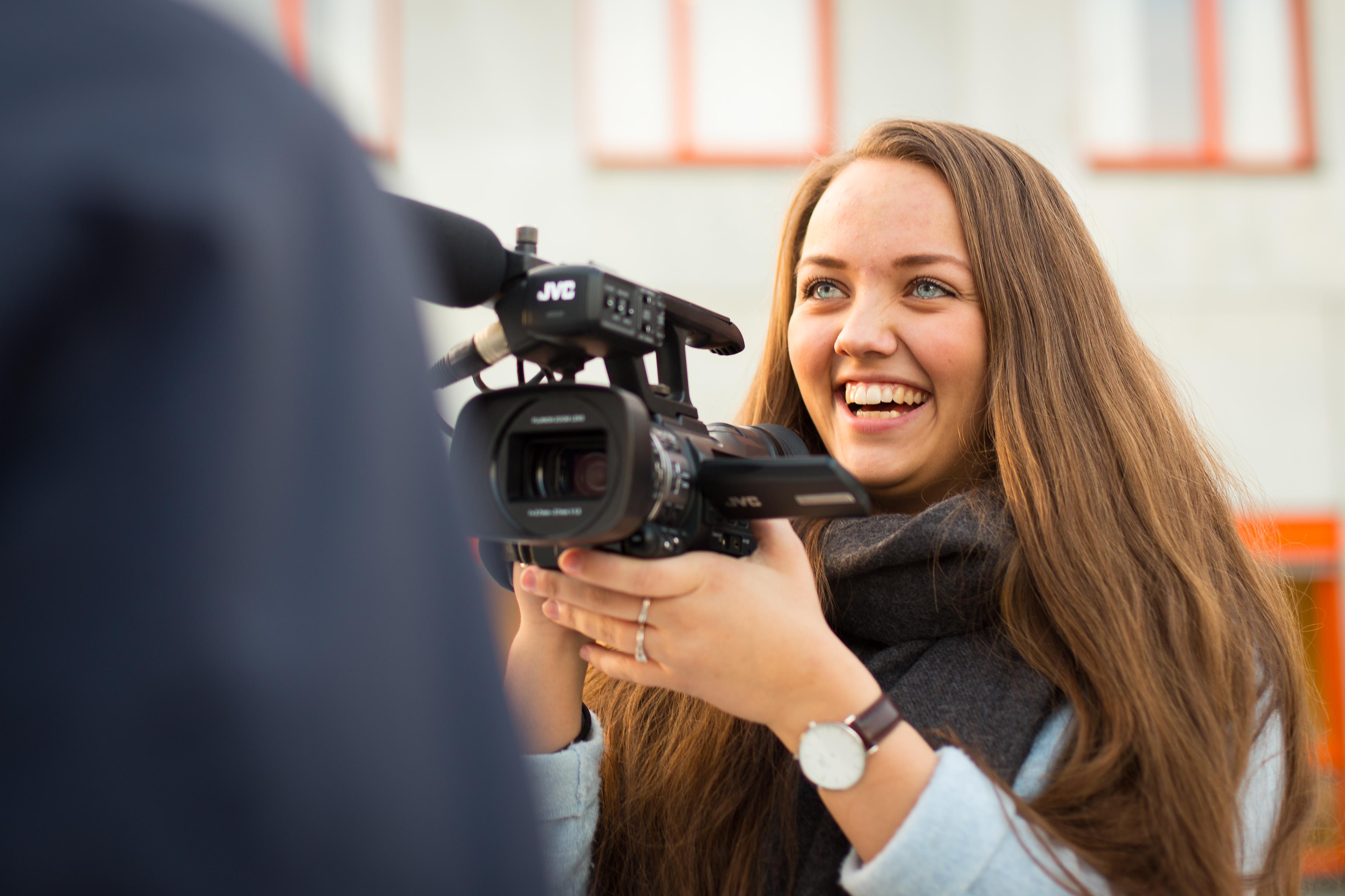 Medieproduksjon er populært for søkarar som ønsker å gå på Lundeneset.